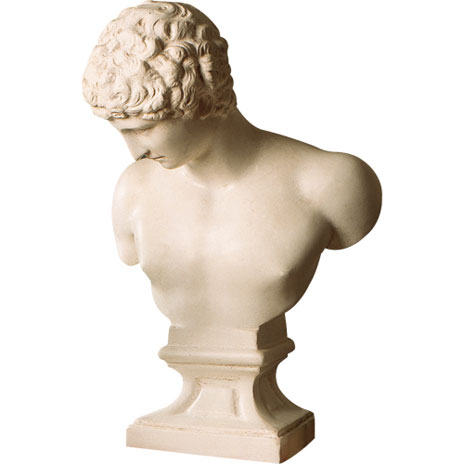 Replica bust of Hermes