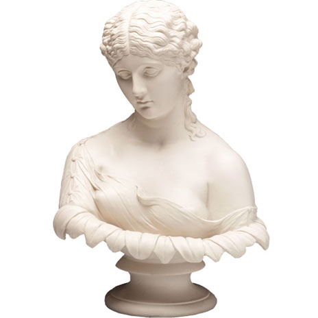 Replica bust of Antonia
