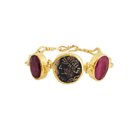 Roman Coin bracelet