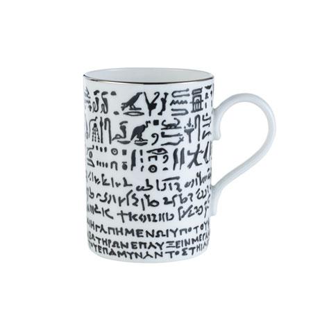 Rosetta Stone mug, white