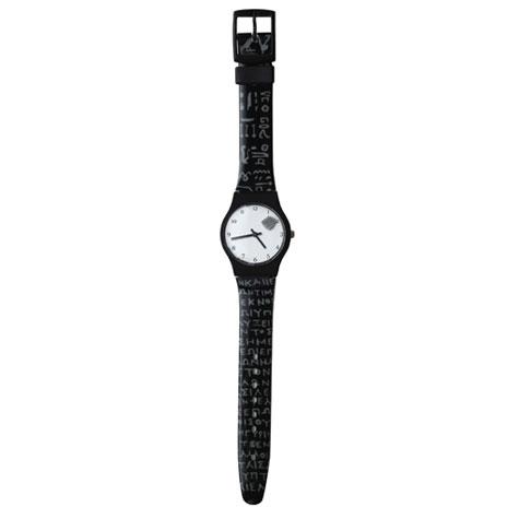 Rosetta Stone watch
