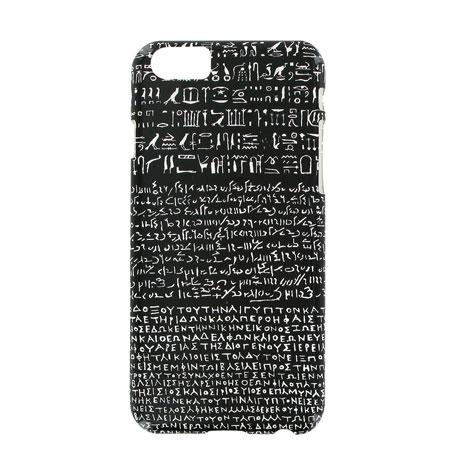 Black Rosetta Stone iPhone 6 case