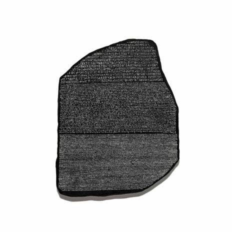 Rosetta Stone plaque