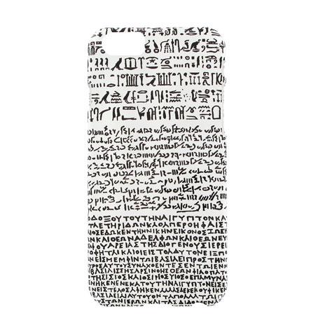 White Rosetta Stone iPhone 6 case