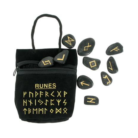 Rune gemstone gift set