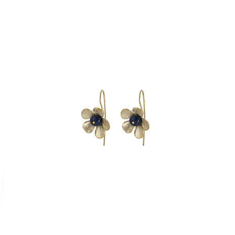 Scythian flower earrings