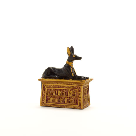 Anubis on Plinth ornament