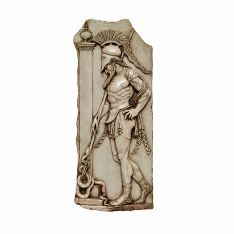 Sepulchral Warrior plaque