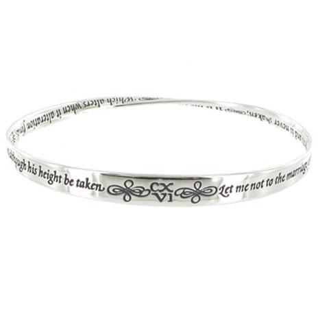 Shakespeare Sonnet Bracelet