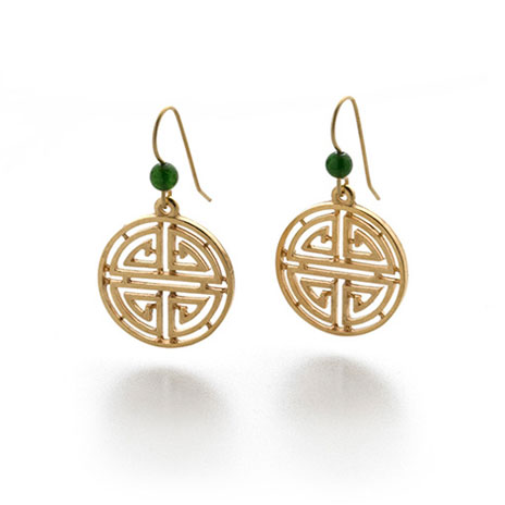 Shou Symbol earrings