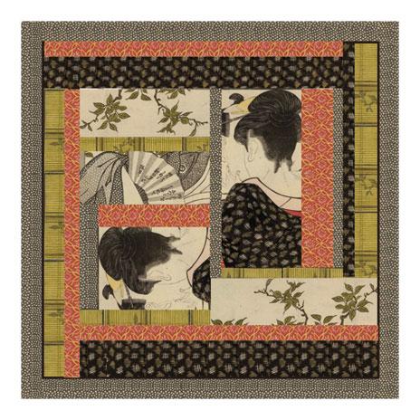Shunga scarf (British Museum exclusive)