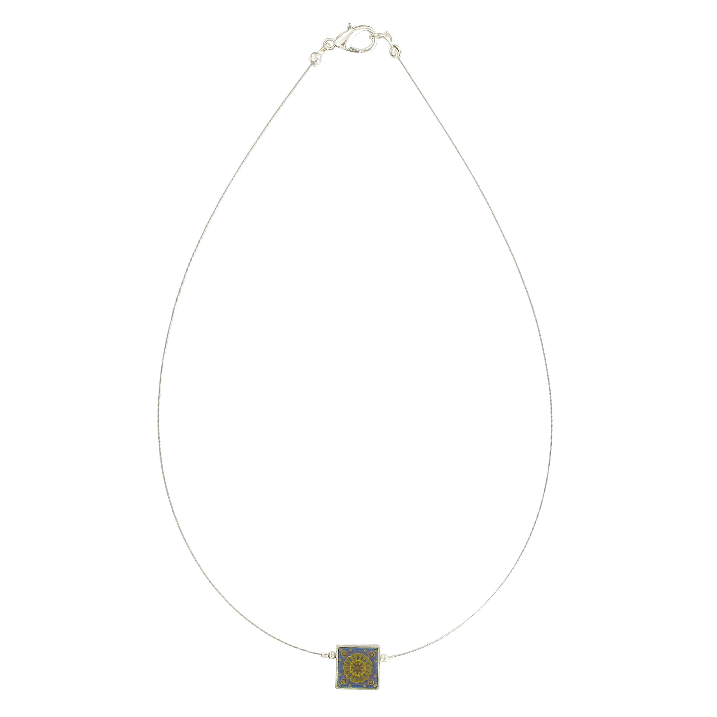Islamic art pendant necklace