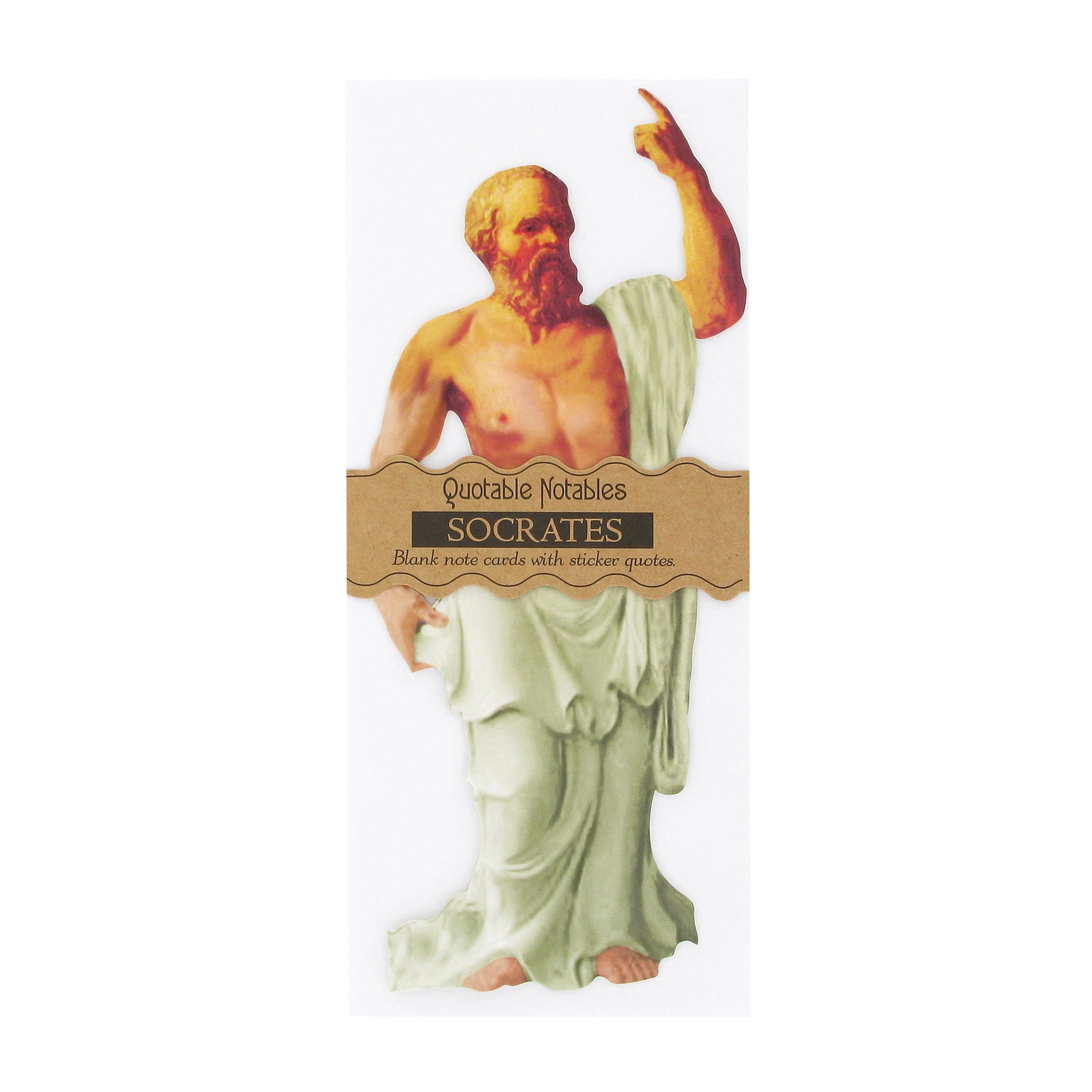 Socrates quotes card