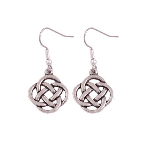Celtic Square Knot earrings