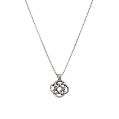 Celtic Square Knot necklace