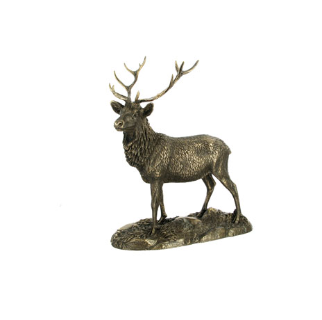 The Stag statue