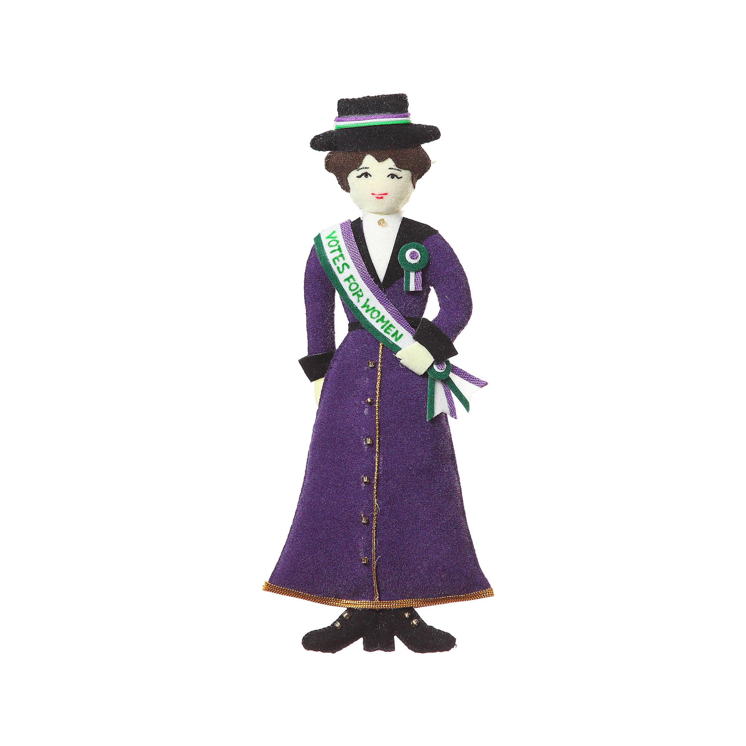 Suffragette decoration