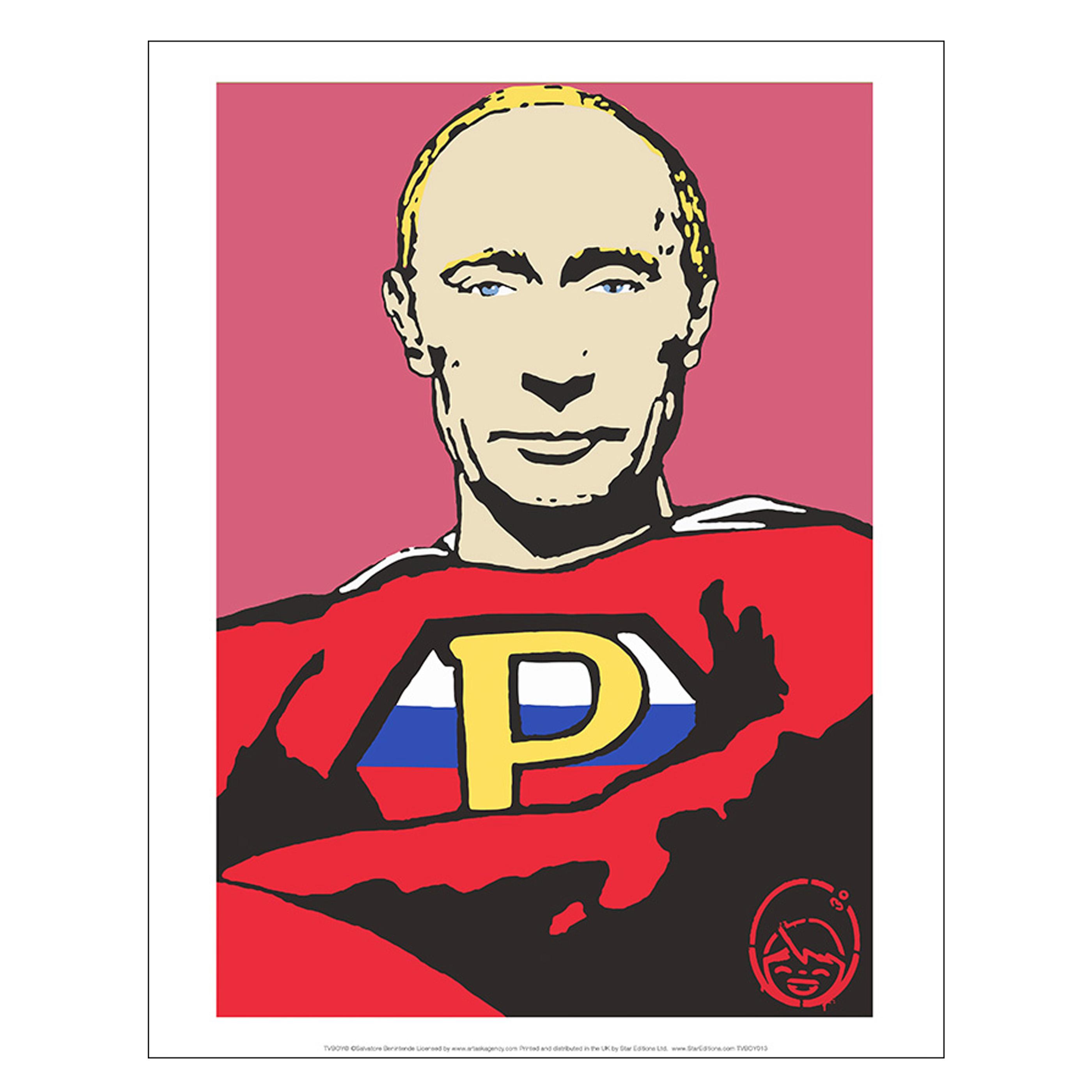 Super Putin print