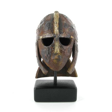 Sutton Hoo Helmet Bronze Sculpture