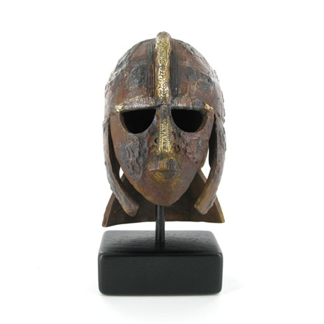 Sutton Hoo Helmet Bronze Sculpture