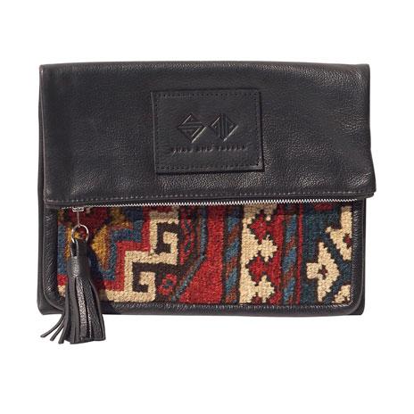 Dahlia clutch bag