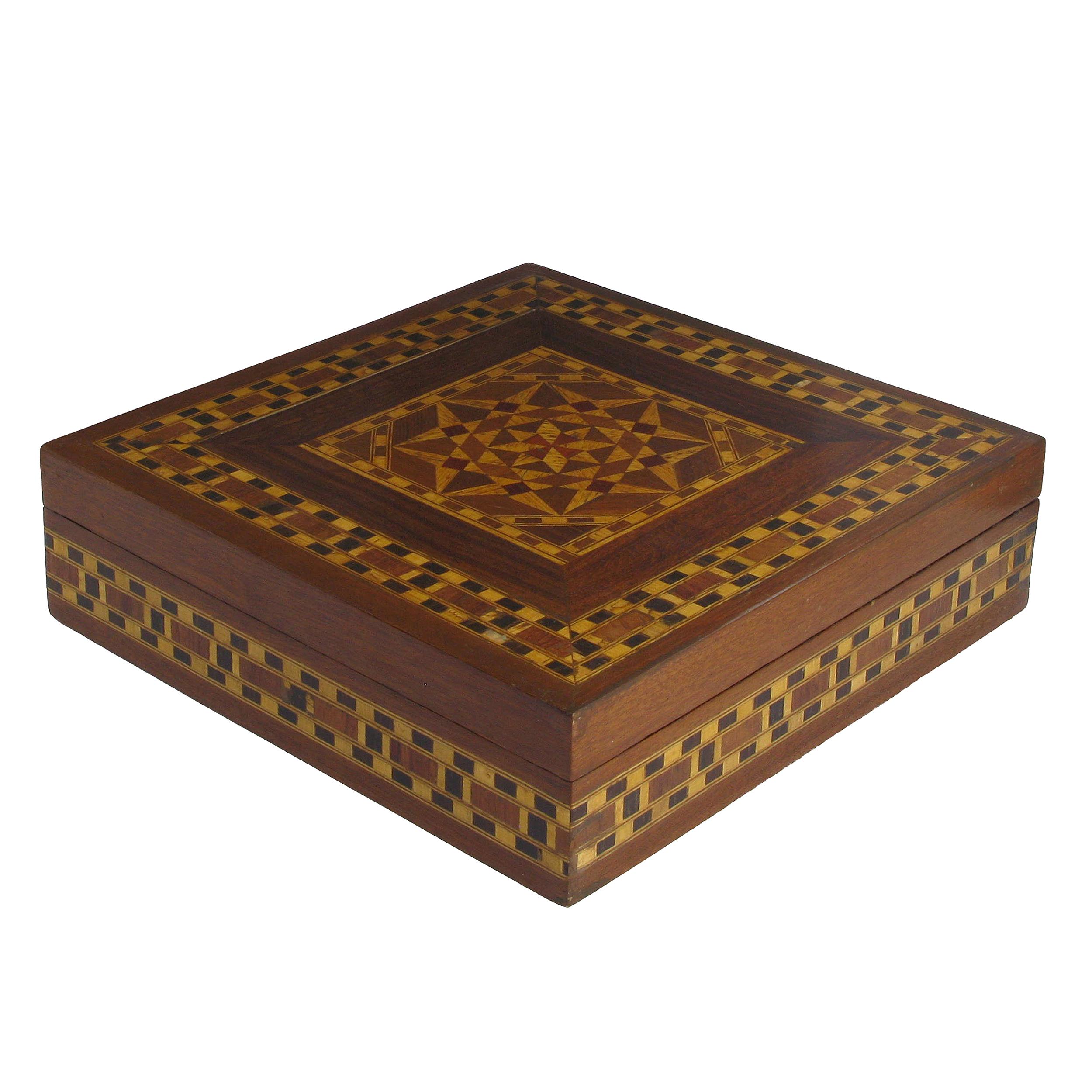 Syrian Wooden Box (20cm)