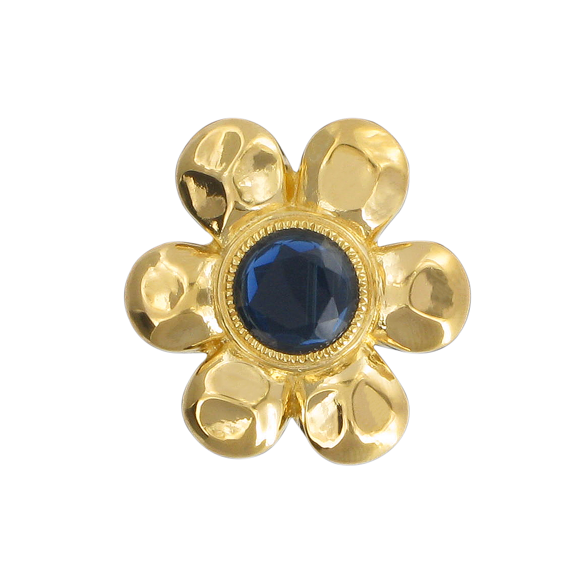 Temple flower brooch