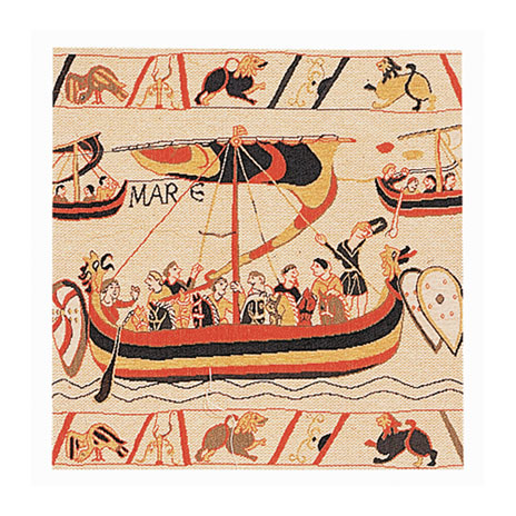 Bayeux Tapestry cushion cover