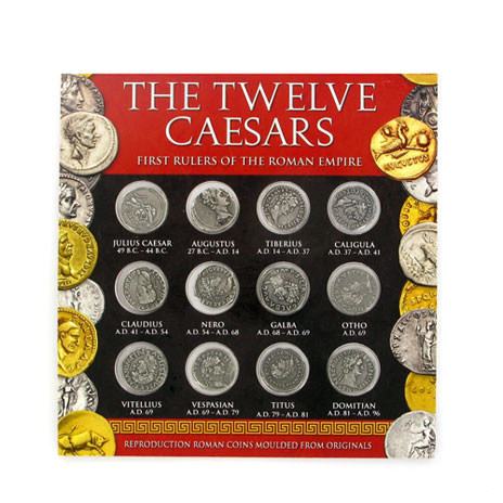 The Twelve Caesars coin set