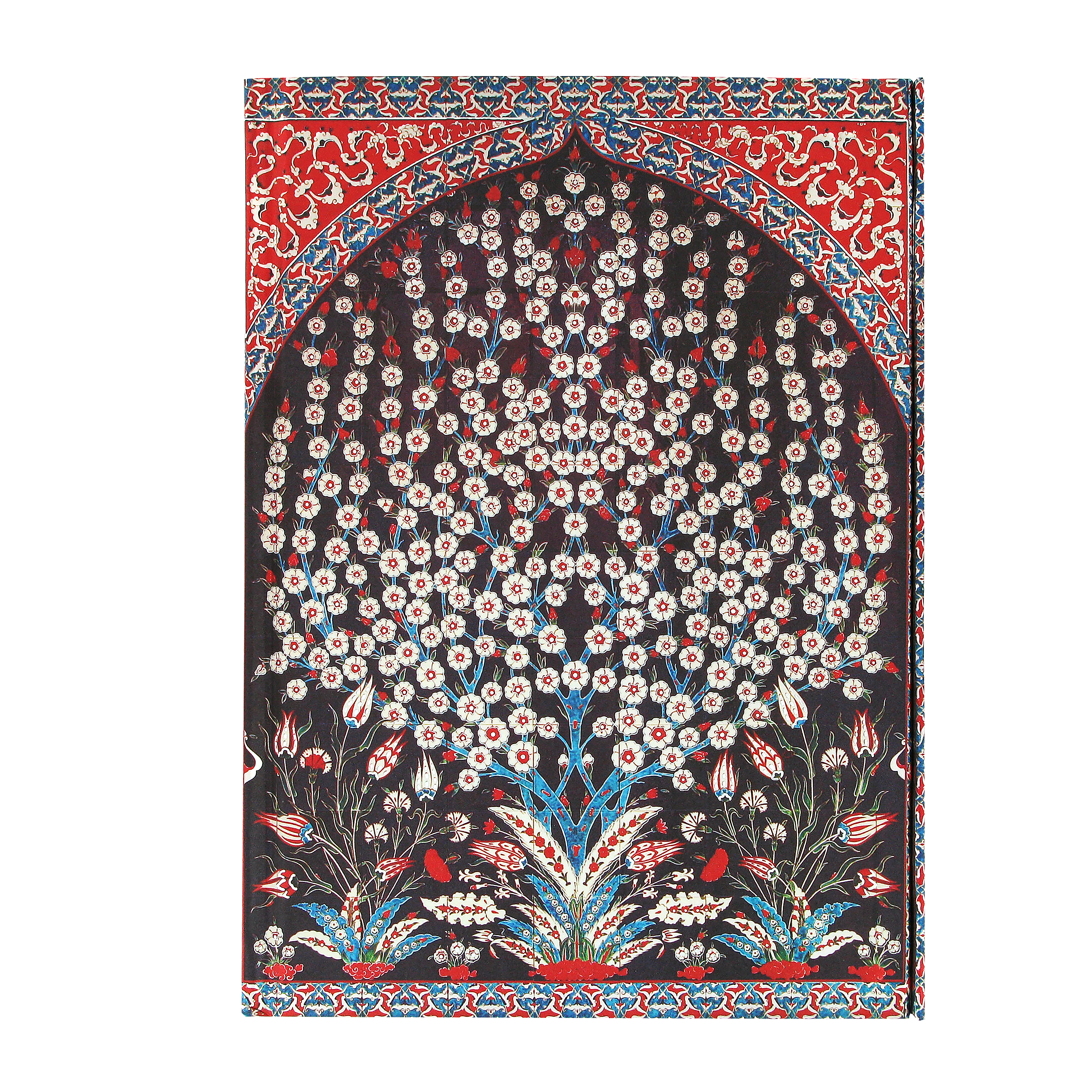 Turkish wall tiles foiled notebook