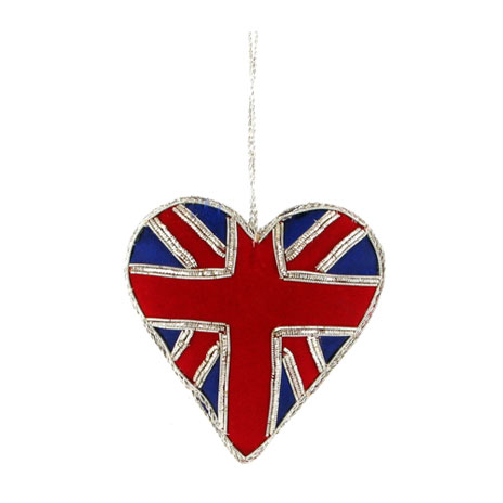 Union Heart hanging decoration