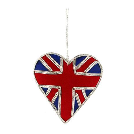 Union Heart hanging decoration