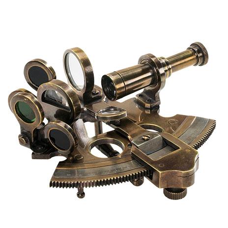 Victorian explorer's sextant