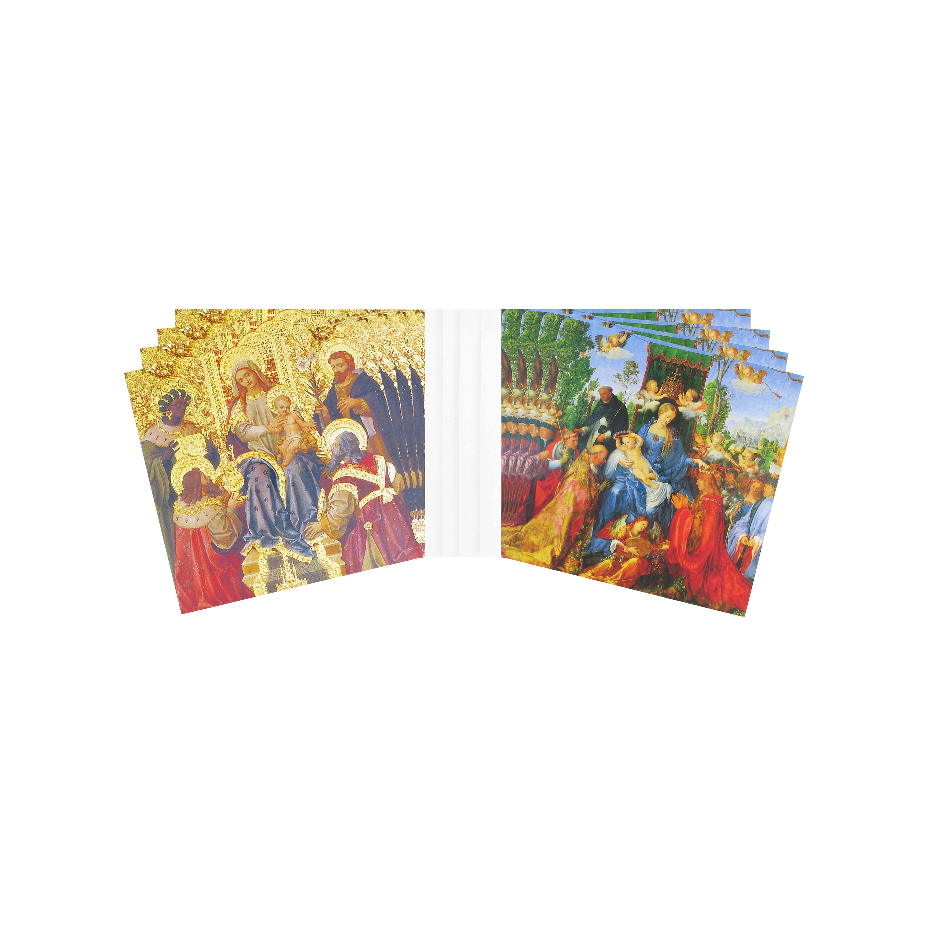 Virgin and child Christmas cards