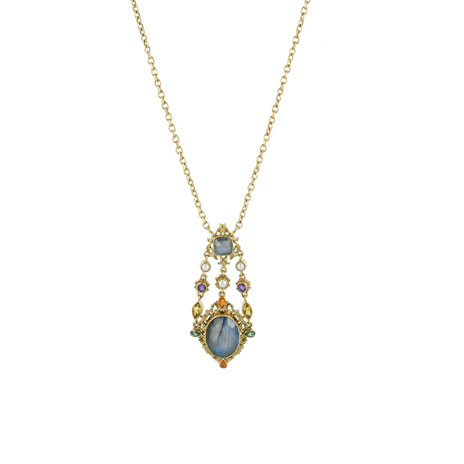 Waddesdon labradorite necklace