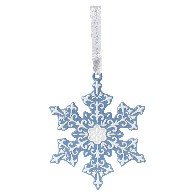 Wedgwood snowflake decoration