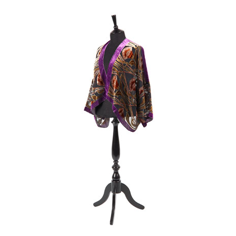William Morris jacket (brown/purple)