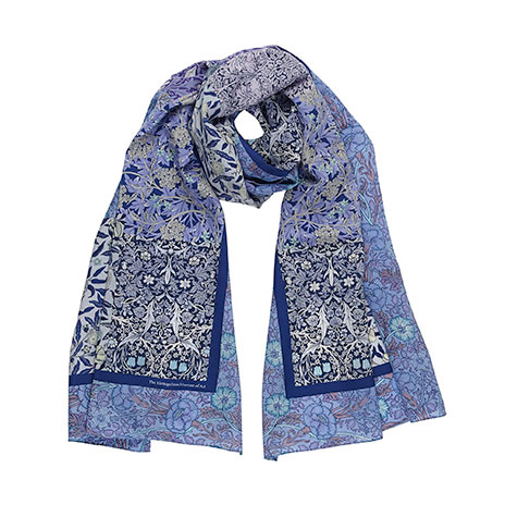 William Morris patchwork scarf