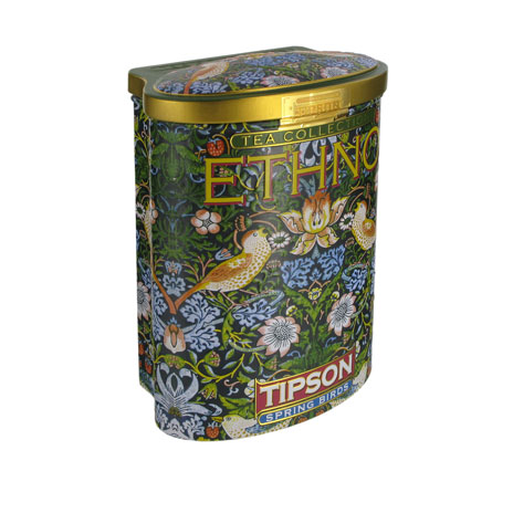 William Morris tea tin