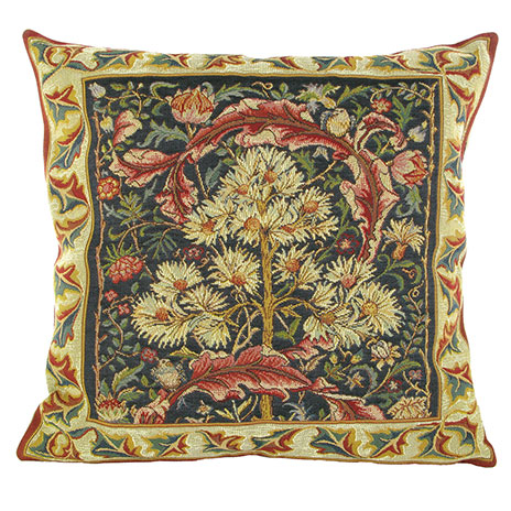 William Morris medieval cushion