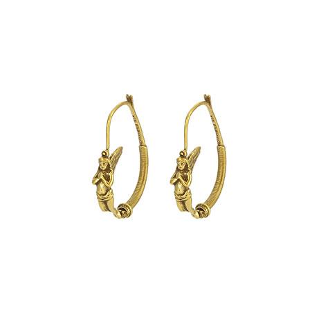 Wing Of Nike Goddess Earrings
