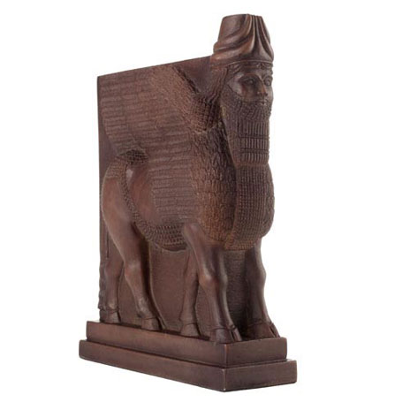 Winged Bull bookend (single)