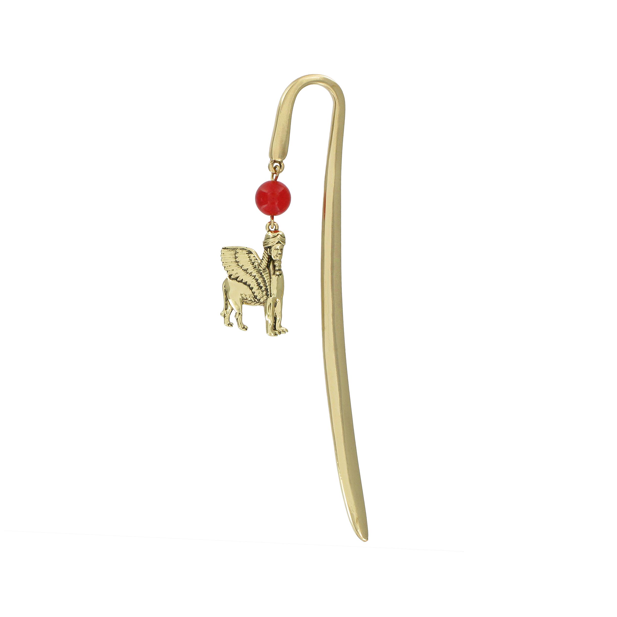 Winged Bull bookmark