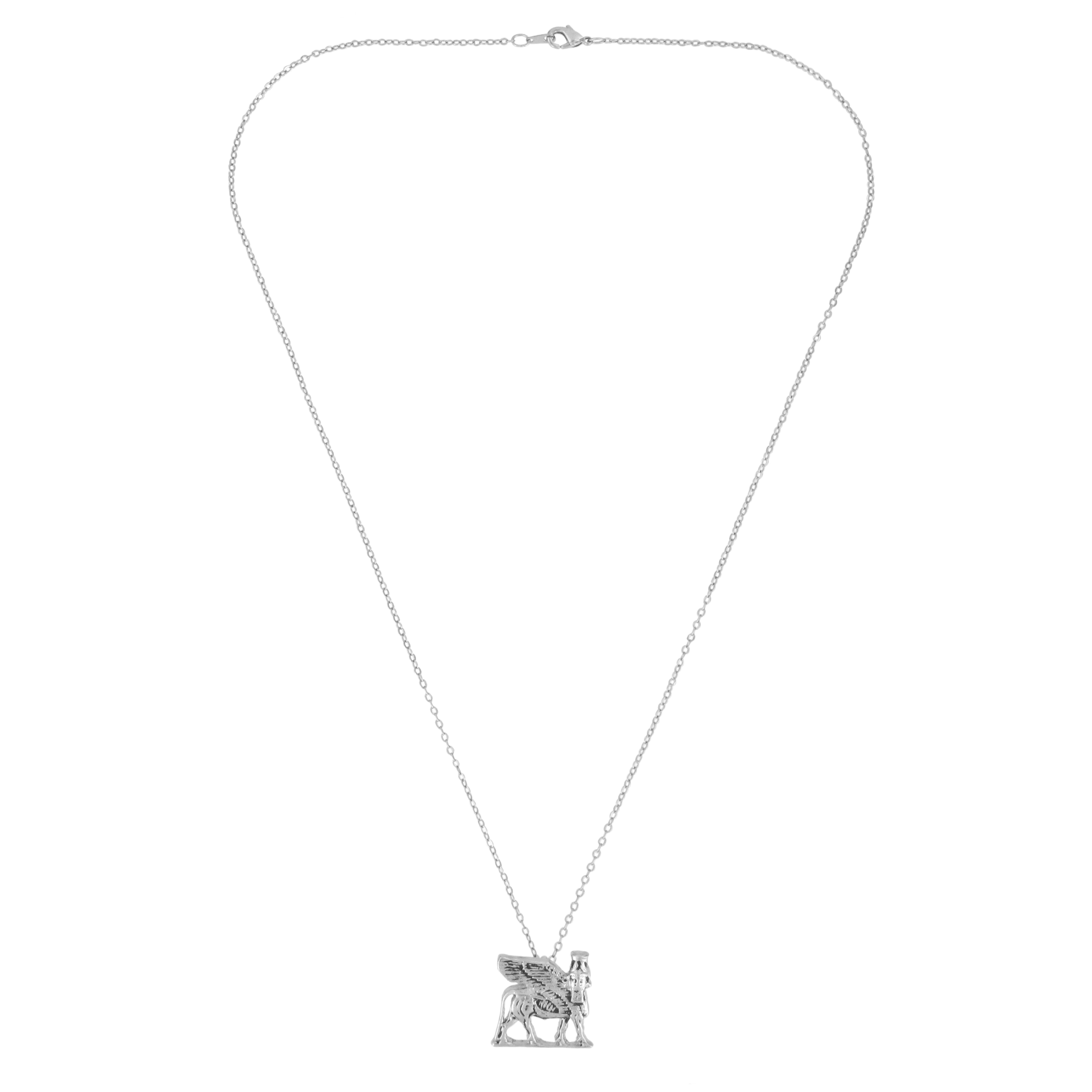Winged Bull necklace