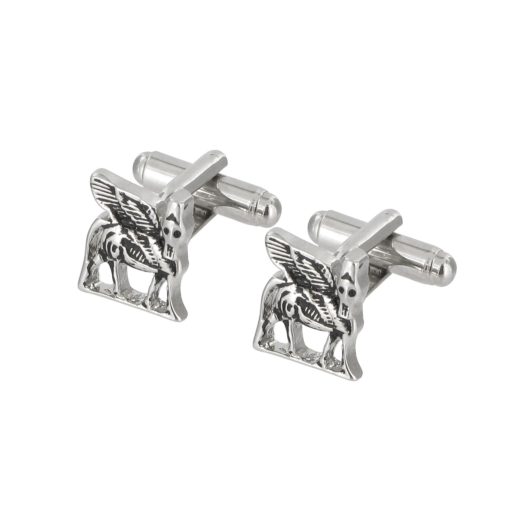 Winged bull cufflinks