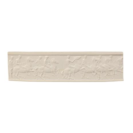 Miniature Parthenon horsemen panel