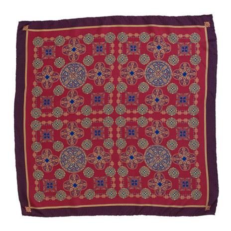 Anglo-Saxon silk scarf