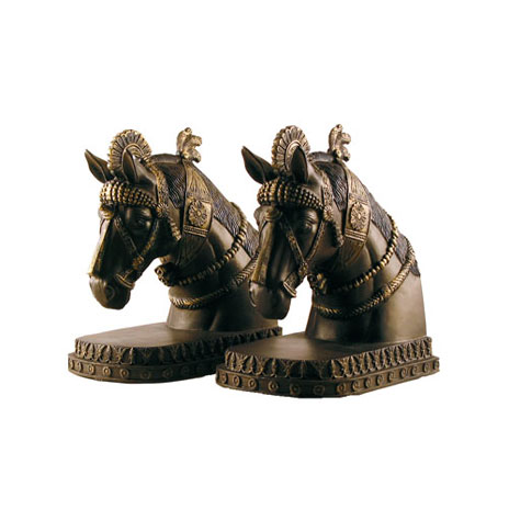 Assyrian Horse bookends