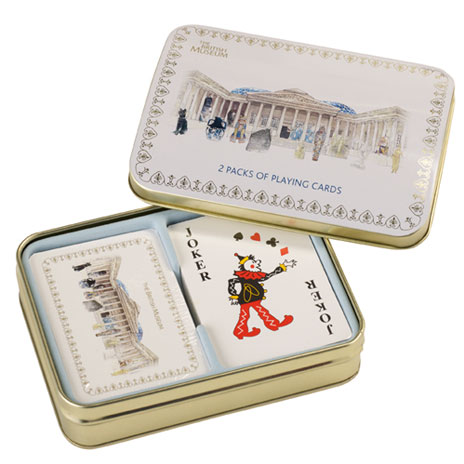British Museum classic playing cards (2 pack)