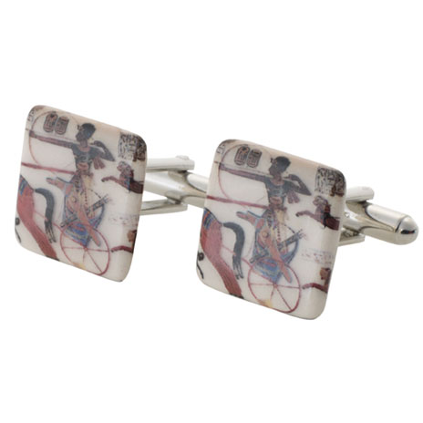 Egyptian Painting cufflinks (British Museum exclusive)